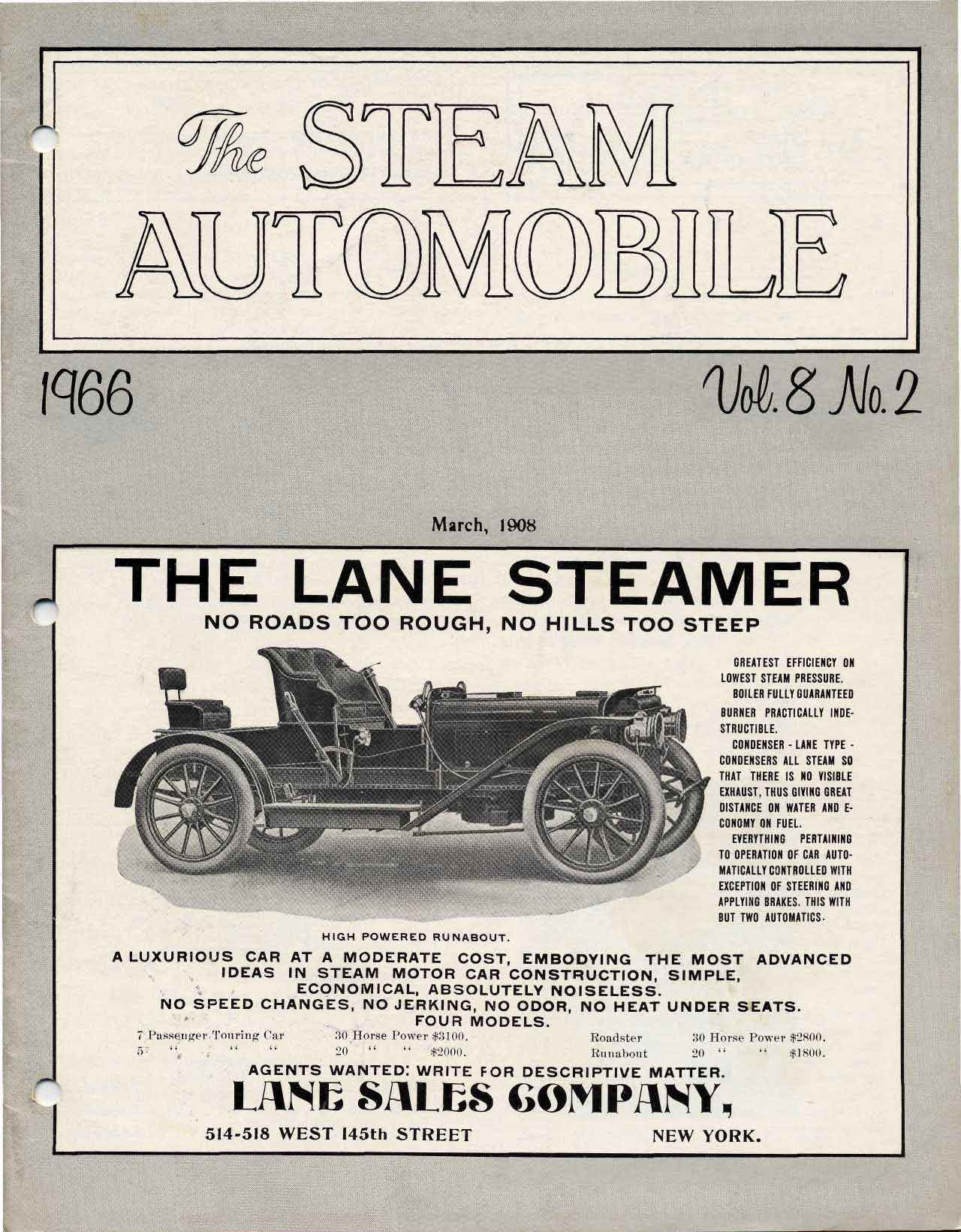 The Steam Automobile Quarterly 1967 Vw Beetle Simple Wiring Diagram Sav8n2