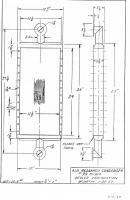 Besler steam aircraft engine steam condenser layout.png